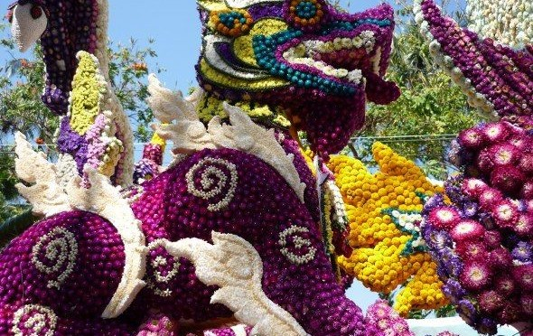 Thailand: Chiang Mai Flower Festival 2014 (E)