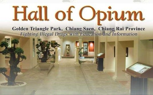The Hall of Opium an intoxicating attraction in Chiang Rais Golden Triangle