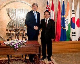 U.S. Secretary of State Meets Secretary-General of ASEAN