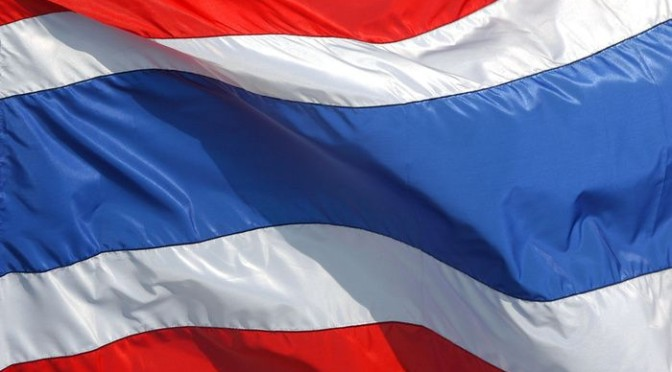 Thai police push out street protesters