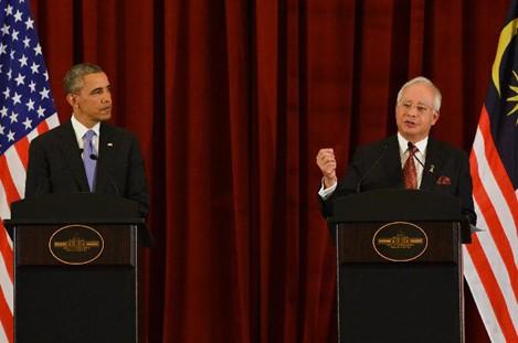 U.S., Malaysia pledge to promote bilateral ties