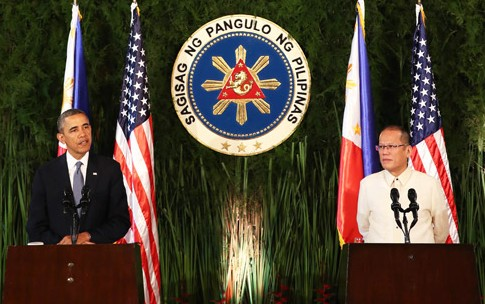 Obama ready to defend the Philippines