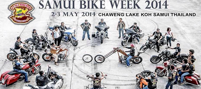 The 6th Samui Bike Week ready to roar into life