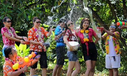 Magic and traditions of Thai New Year (Songkran)