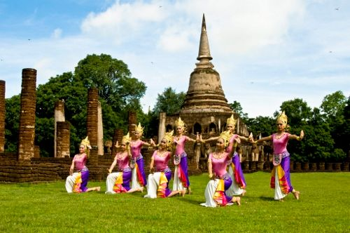 Fun, culture and cuisine at Sukhothai, homeland of Songkran Festival