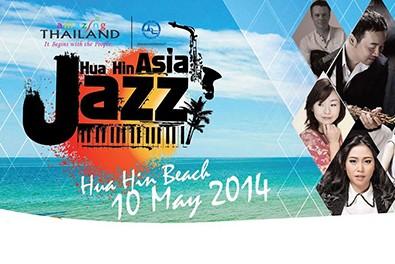 Sea, sun and saxophones at Hua Hin Asia Jazz 2014