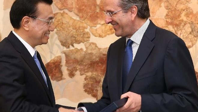 Chinese premier calls for closer cultural exchanges with Greece