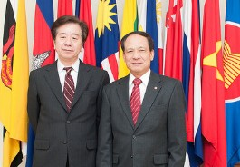 JICA Commits to Promote Cooperation with ASEAN