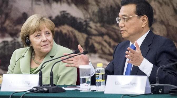 China: Merkel calls for sustainable development