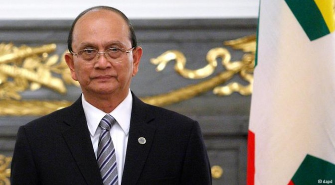 Myanmar president adament about building democracy