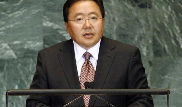 Mongolian president starts on European tour