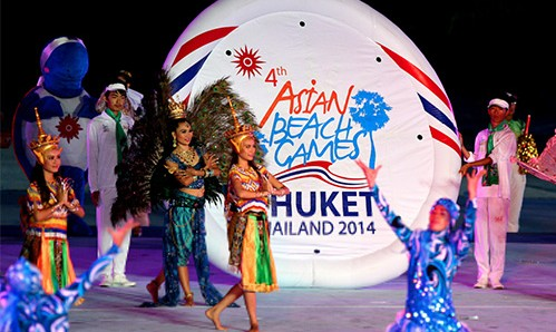 Thailand hosting 4th Asian Beach Games 2014