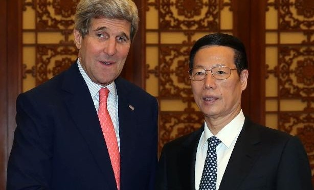 China, U.S. compare notes on climate change