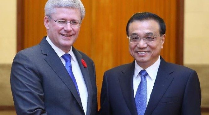 China, Canada to boost relations, new cooperation