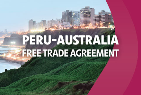 Australia, Peru sign free trade agreement