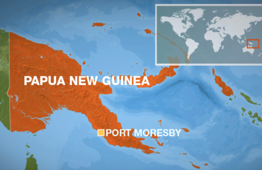 Major earthquake strikes Papua New Guinea
