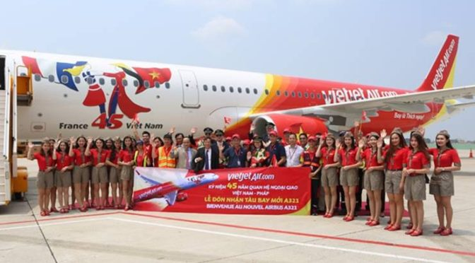 VietJet: Latest A321 Added to its Fleet