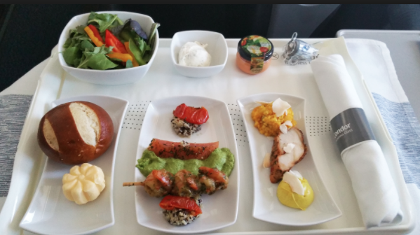 Condor offers onboard dining experience