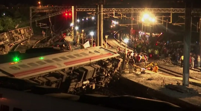 Taiwan: Train derailment kills 18 people