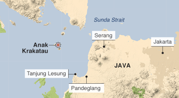 Indonesia tsunami kills hundreds