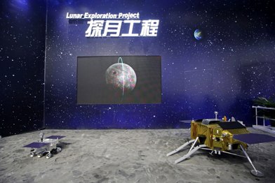 Chinese spacecraft lands on far side of the moon