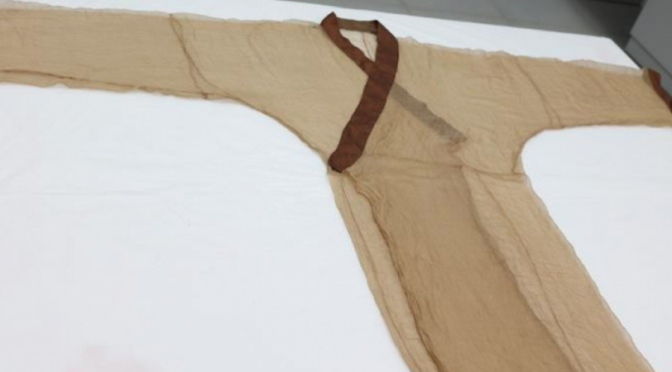 2,000-year-old Chinese silk gown replicated successfully