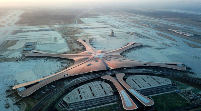 Beijing: New int'l airport completes construction