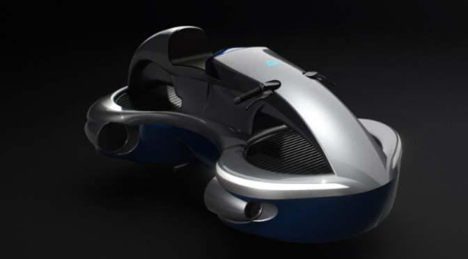 Hover Bike: Market entry planned for 2022