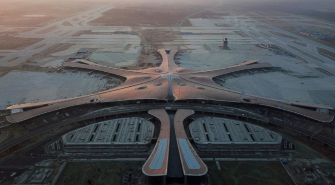 Beijing's new airport opened by President Xi