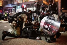 China wants end of violence in Hong Kong