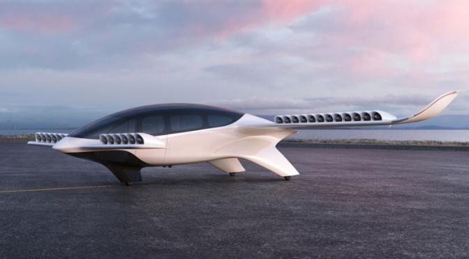LILIUM: Development of 7-Seater electric jet